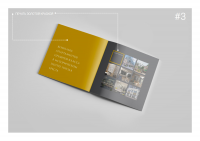 Дизайн брошюры люксовых апартаментов