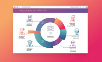 Инфографика для университета БФУ