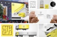 Строительная компания СТАРП (logo, idenity)
