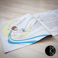 """Лучик. Векторная иллюстрация для детского журнала """"Фруня"""""""