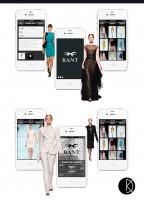 Дизайн мобильного приложения для ателье BANT.