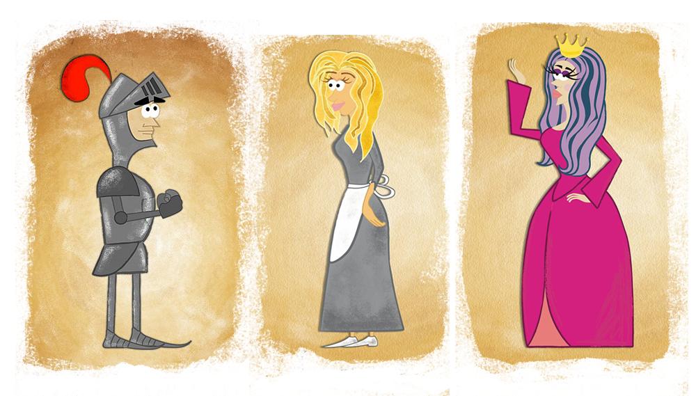 """Персонажи для анимации в стиле """"Твой друг крыса"""""""