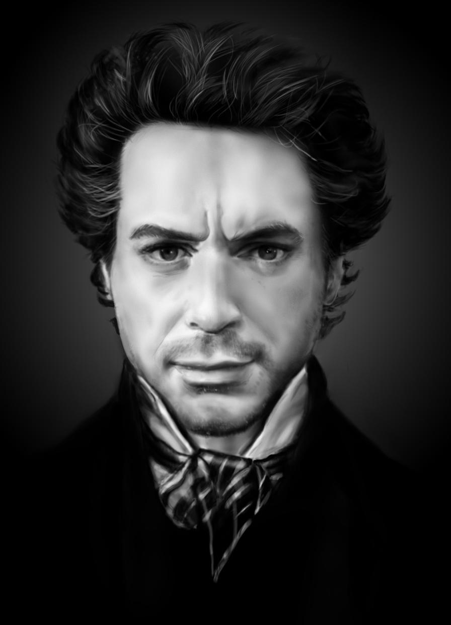 Роберт Дауни младший портрет