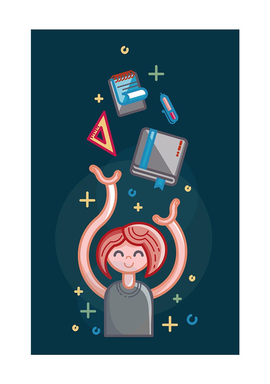 Иллюстрация для социальных сетей