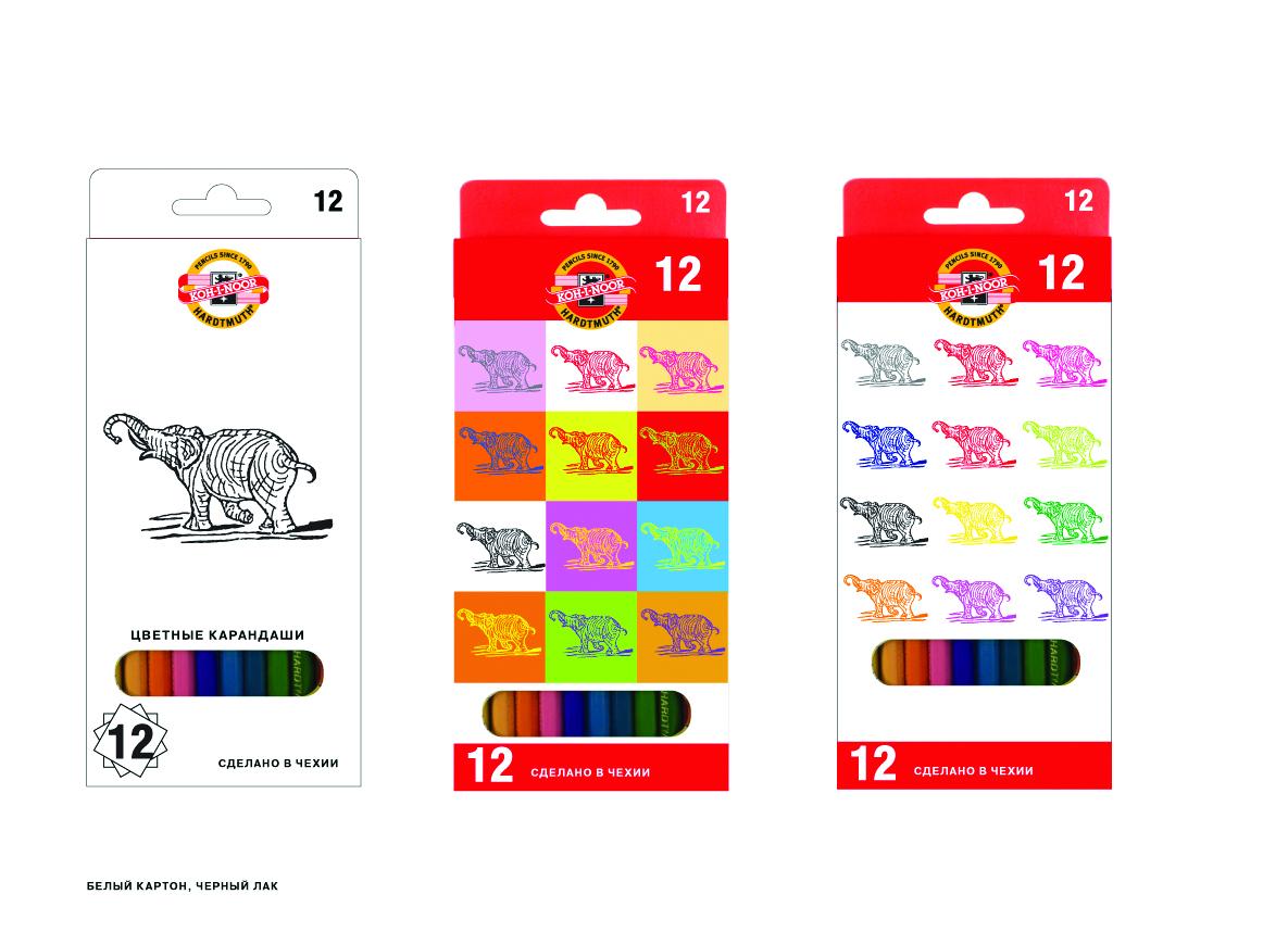 Разработка дизайна упаковки для чешского бренда KOH-I-NOOR фото f_45759f0c16b77f3c.jpg