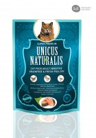 "Корм для кошек премиум-класса ""Unicus Naturalis""."
