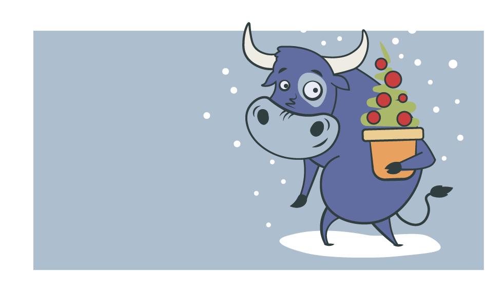 Создать рисунки быков, символа 2021 года, для реализации в м фото f_1685eeb55eb601eb.jpg