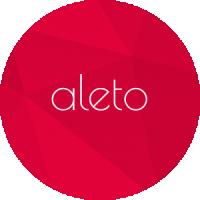 Логотип для ателье женского платья Алето