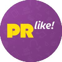 Логотип для сервиса вирусной раскрутки PR Like