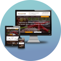Верстка и программирование Landing Page для деревообрабатывающей компании (CMS WordPress)