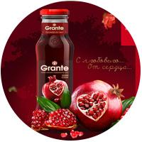 Разработка дизайна сайта для одного из крупнейших производителей сока