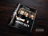 Полиграфия MENZO DJ'S