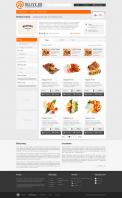 Заказ еды из ресторана Delive. 1C-BITRIX