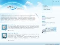 Вторая версия сайта iceventek