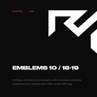 Emblems 10 / 18-19