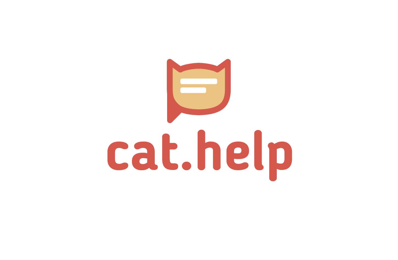 логотип для сайта и группы вк - cat.help фото f_29159dbc7628406c.jpg