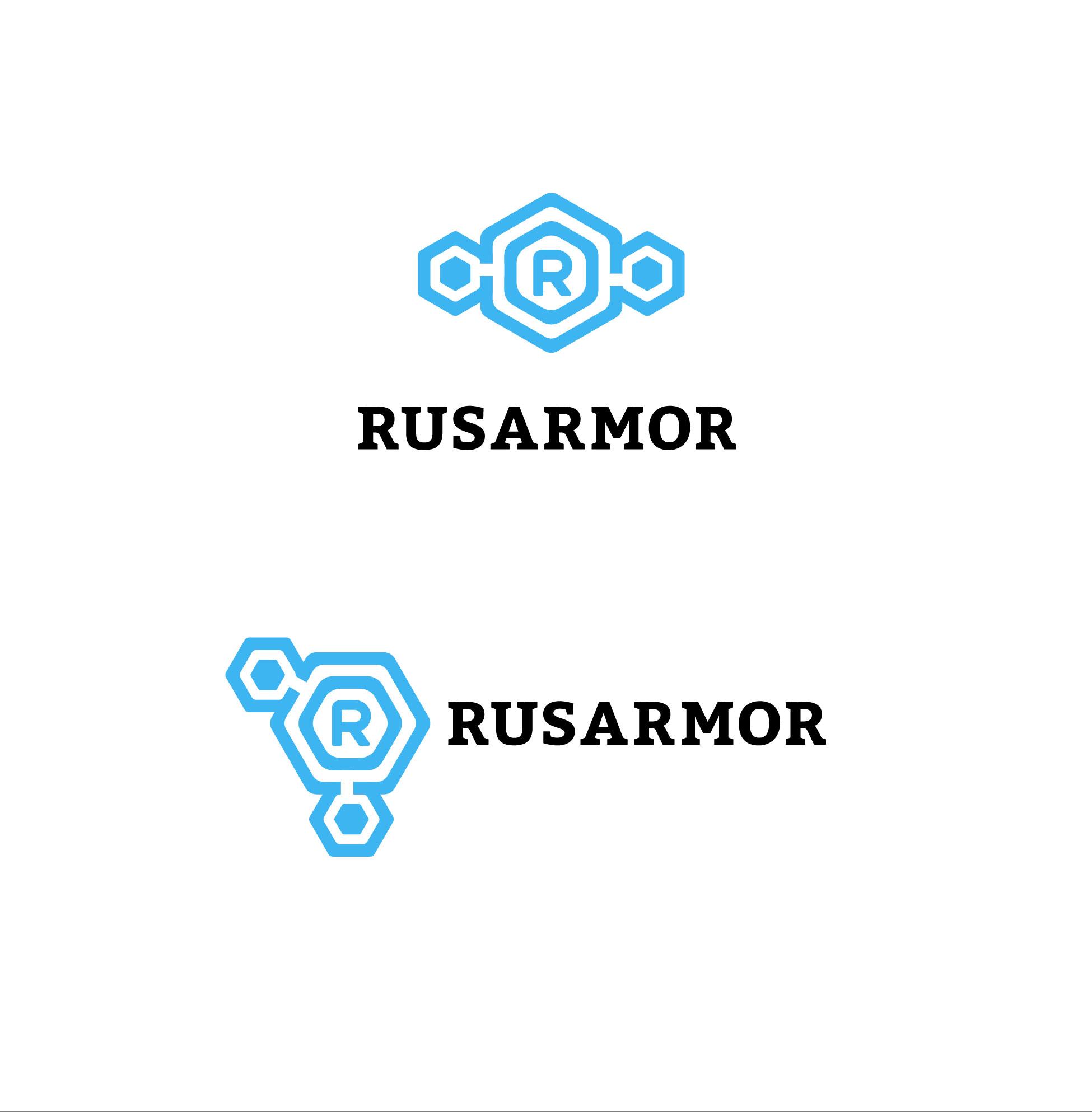 Разработка логотипа технологического стартапа РУСАРМОР фото f_8385a087d68ee047.jpg