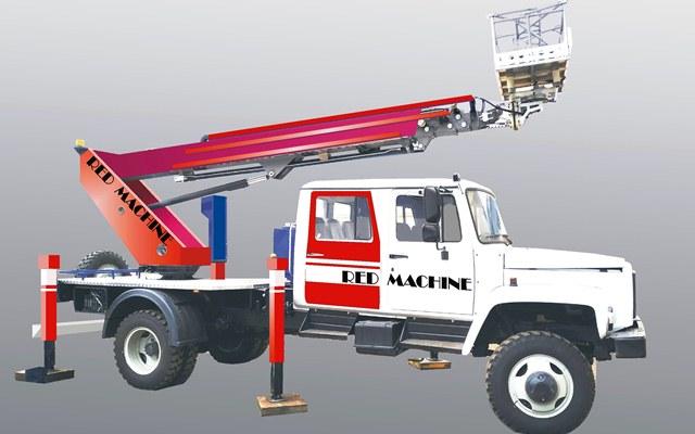 Оформление автогидроподъёмника,  бренд - RED MACHINE фото f_3225e13f428e2be1.jpg