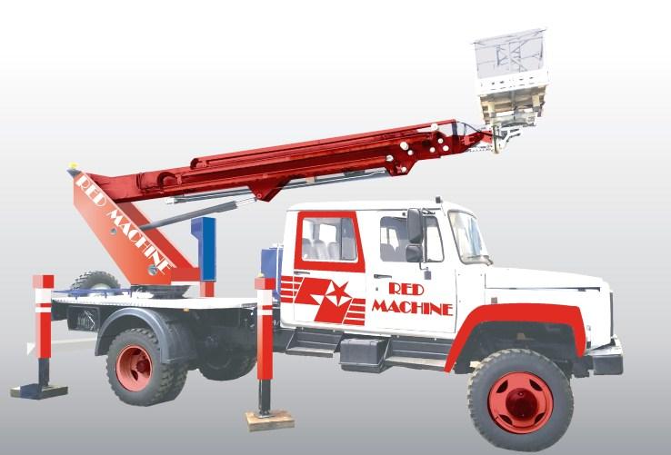 Оформление автогидроподъёмника,  бренд - RED MACHINE фото f_6455e16331ccb7a2.jpg