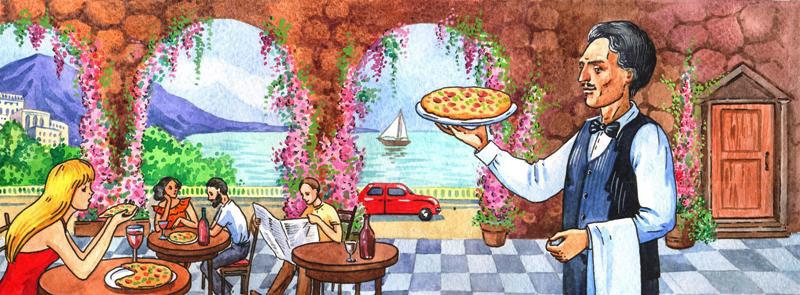 Для пиццерии (реклама)