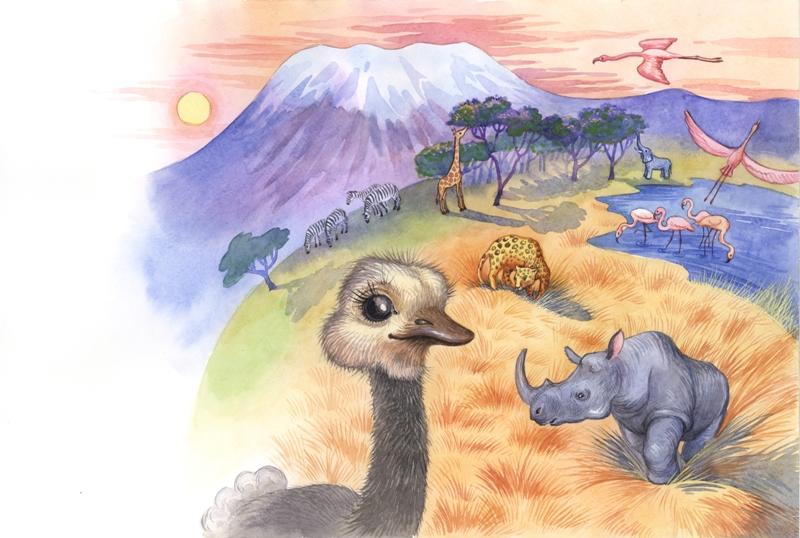"""У Килиманджаро. """"Зоряна казка""""."""