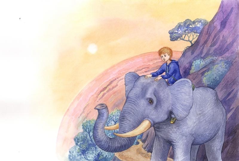 """Путешествие на слоне. """"Зоряна казка"""""""
