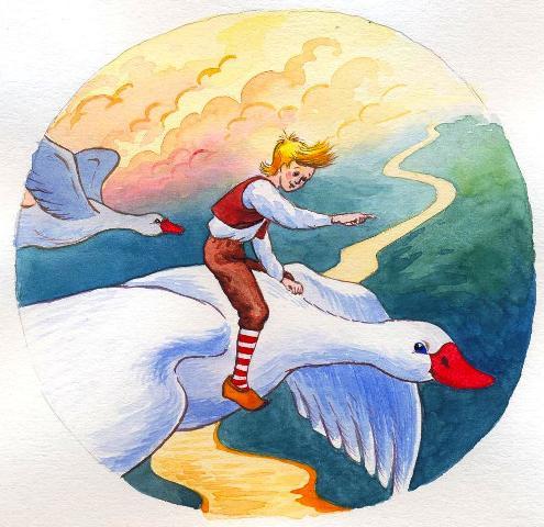 «Путешествие Нильса с диким гусями»