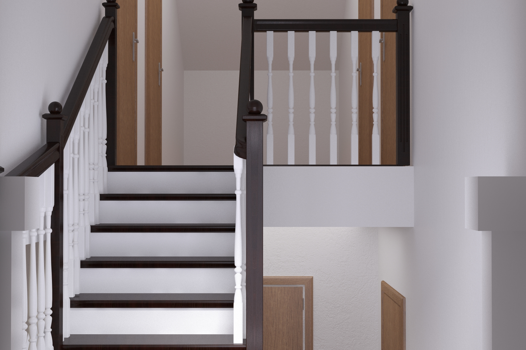 Visualization of stairs