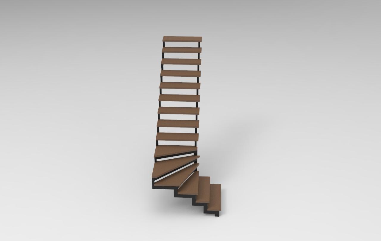 Лестница. Профиль 40х80