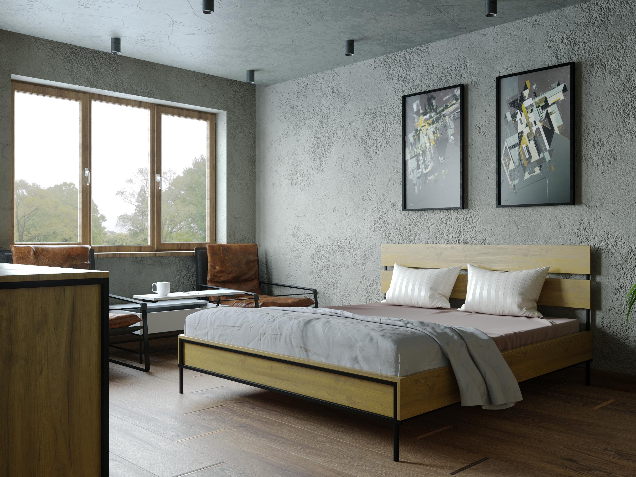 Визуализация спальни