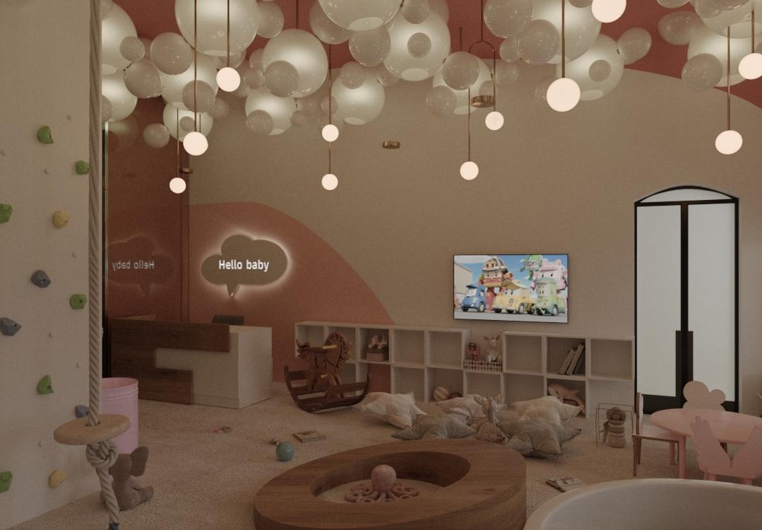 Визуализация детского сада