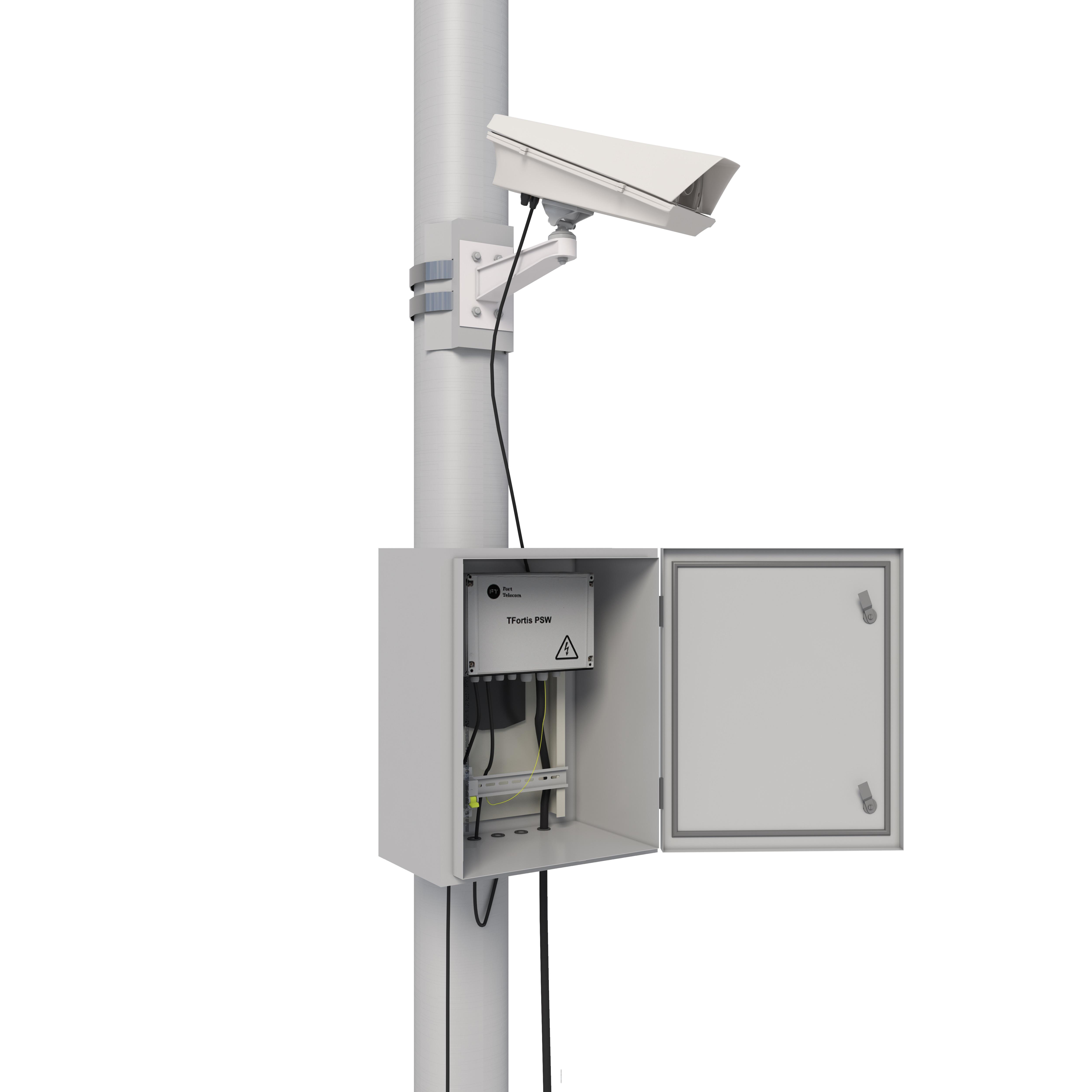 Визуализация системы видеонаблюдения