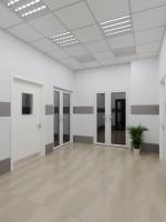 Визуализация вестибюля поликлинники