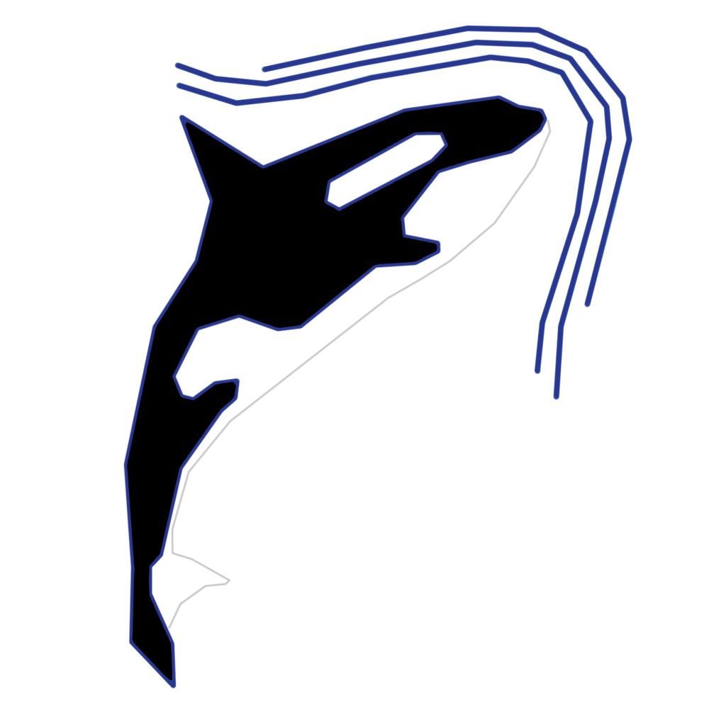 Разработка фирменного символа компании - касатки, НЕ ЛОГОТИП фото f_5575afed7346c25f.png