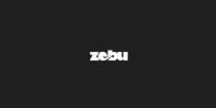 Zebu logo concept