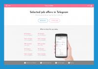 Рассылка избранных вакансий в Telegram