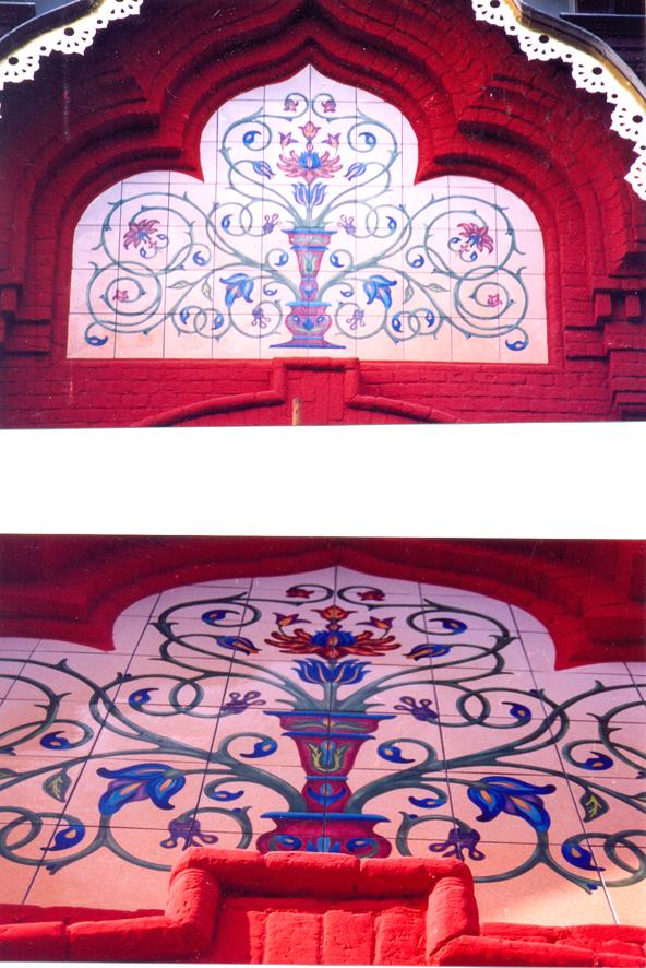 реконструкция фасадов театра Наций