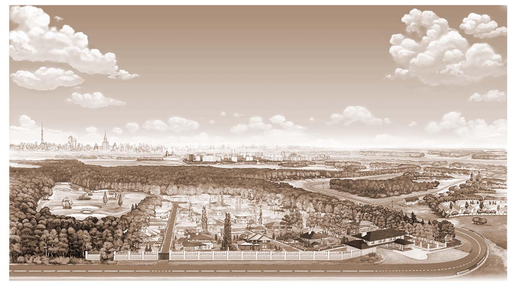 Панорама для сайта ТСЖ Шелестово