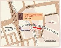 Карта проезда к офису6