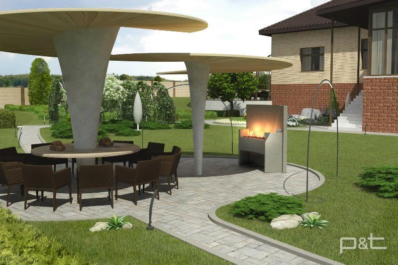 Ландшафтный дизайн проект 1