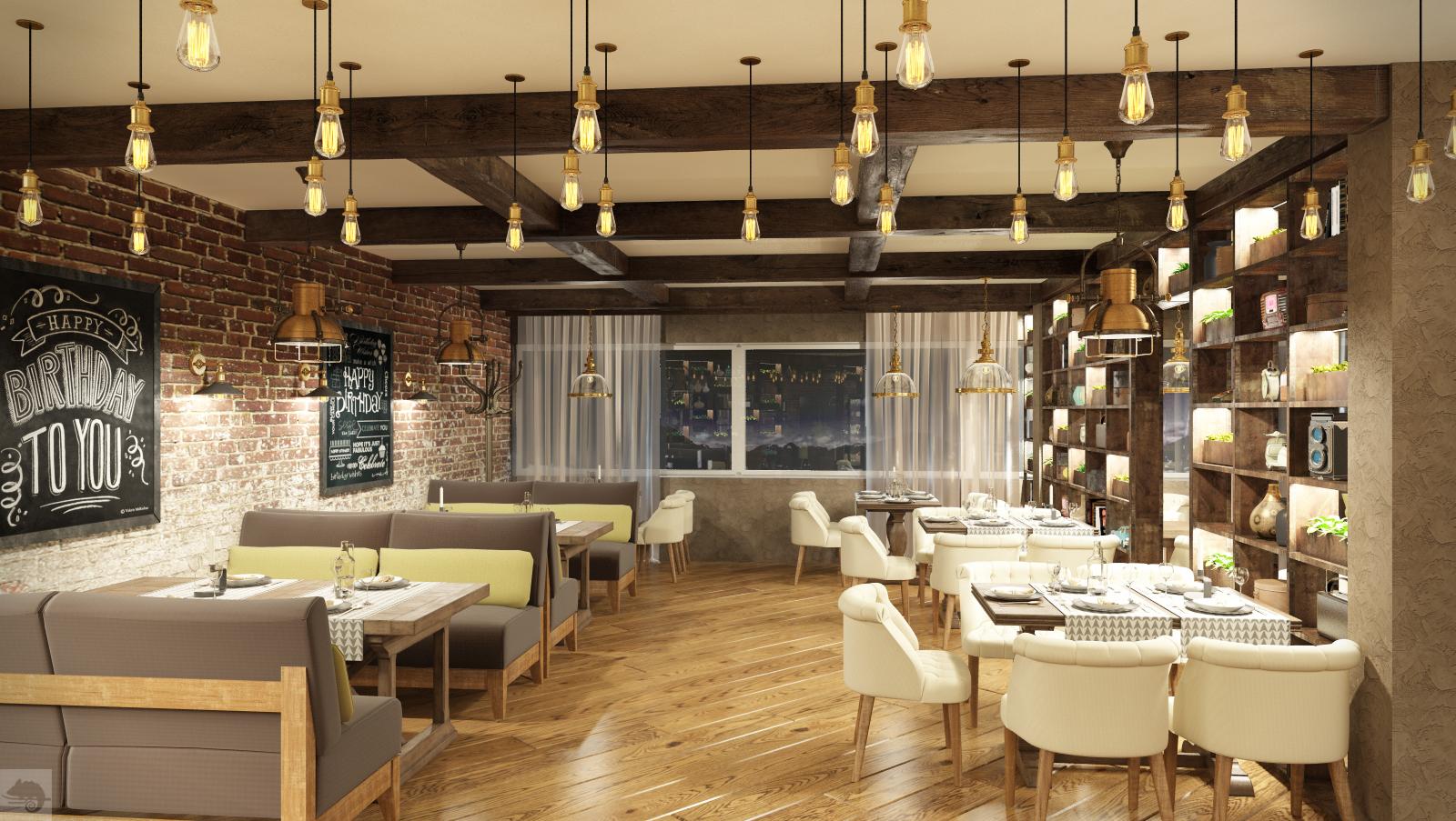 Ресторан в Норвегии, г.Орста (часть 4)