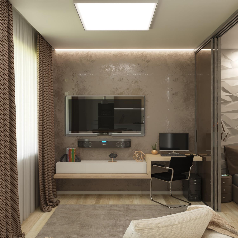 Квартира-студия 40 м2 (Часть 1)