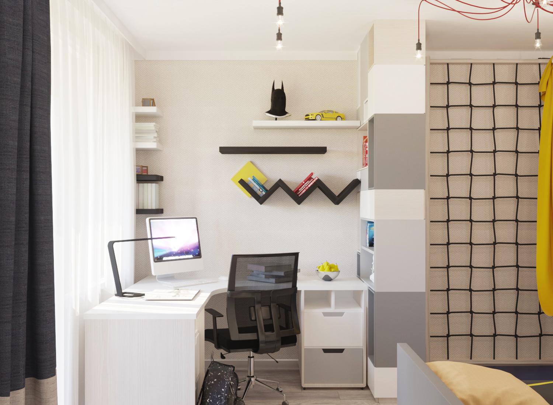 Дизайн проект 3-х комнатной квартиры (Детская)