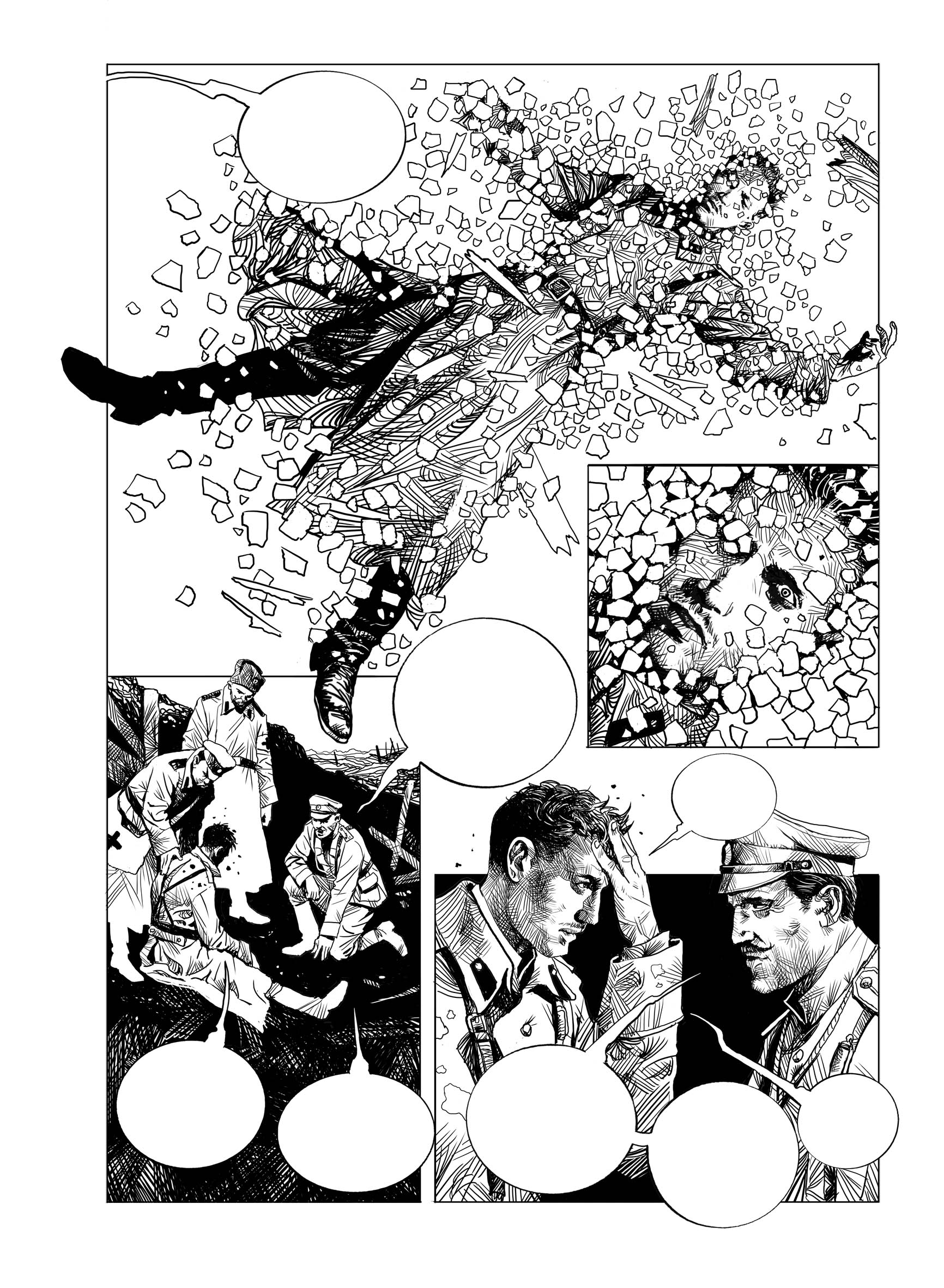 Проект комикса по воспоминаниям белых офицеров