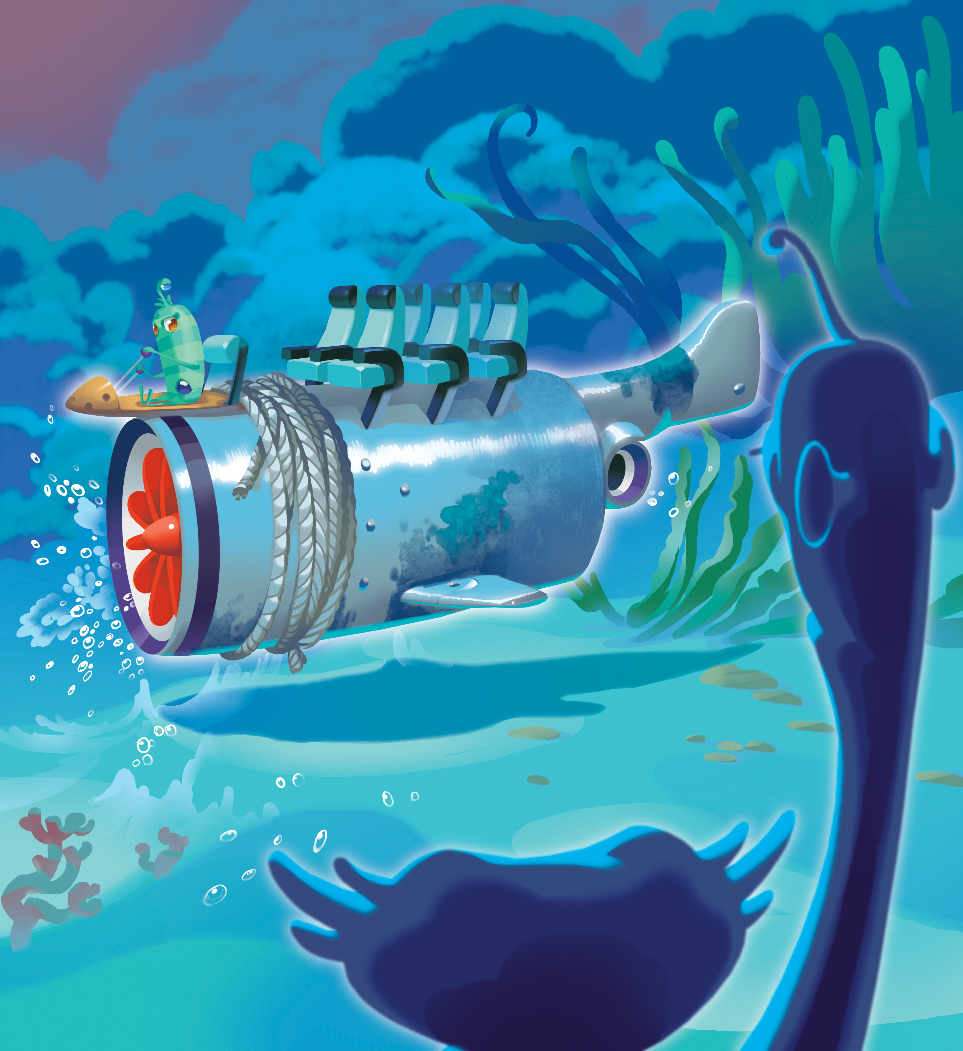 Иллюстрации для детской книги лэтуаль