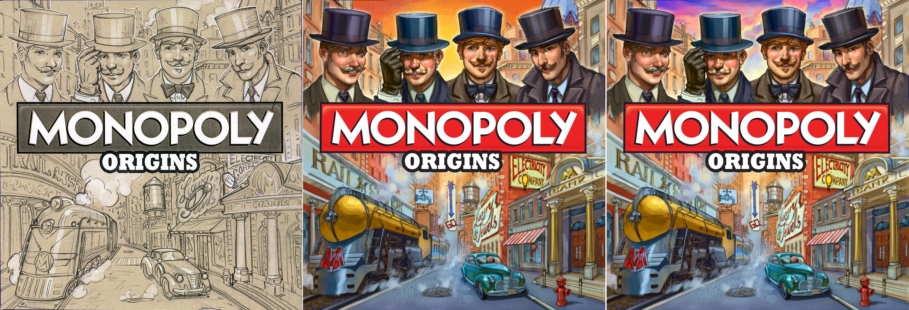 Новый дизайн для Monopoly