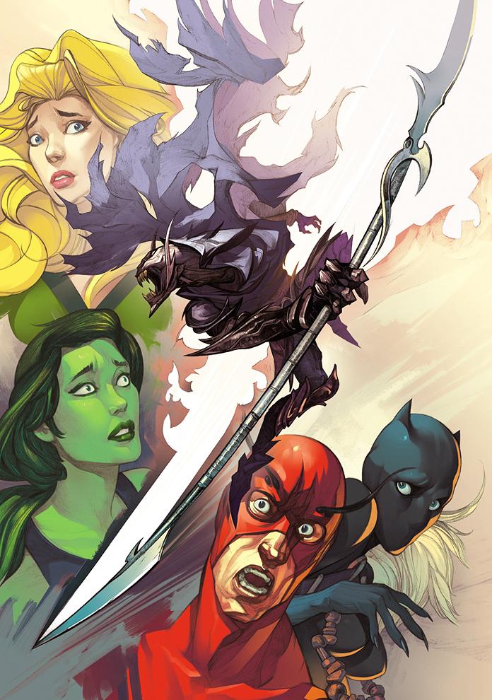 Рисунок для Marvel
