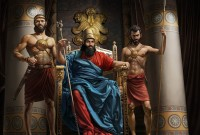 Серия иллюстраций для Библии