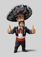 Веселый мексиканец