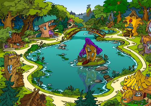 Лешики-иллюстрация для Кирилл и Мифодий